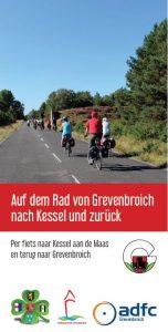 Deckblatt Flyer Radtour GV-Kessel